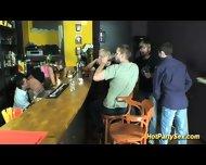 Teen Sucks Boners In Club - scene 7