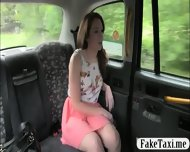 Pierced Nipples Amateur Customer Drilled For Free Taxi Fare - scene 3