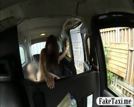 Pierced Nipples Amateur Customer Drilled For Free Taxi Fare - scene 7