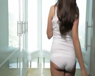 Brunette 19yo Girl Copulated In Sensitive - scene 3