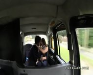 Couple Fucking In Fake Taxi While Moving In The Middle Of The Day - scene 4
