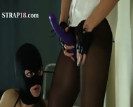 Secret Babes Smoke Strap On Dildo - scene 4