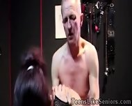Horny Old Bangs A Slutty Punk Girl With His Experienced Tool - scene 9