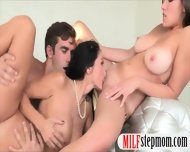 Mature Stepmom Ava Addams And Horny Teen Hot Threesome - scene 12