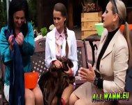 Elegant Babes Having A Jello Massaging Time - scene 1