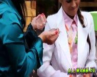 Elegant Babes Having A Jello Massaging Time - scene 8
