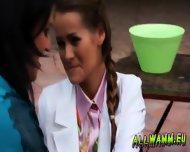Elegant Babes Having A Jello Massaging Time - scene 9