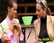 Elegant Babes Having A Jello Massaging Time - scene 11