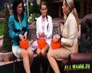 Elegant Babes Having A Jello Massaging Time - scene 4