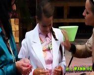 Elegant Babes Having A Jello Massaging Time - scene 5
