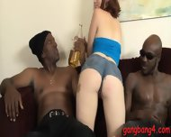 Slutty Babe Jodi Taylor Sucking And Fucking With Black Men - scene 4