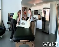 Getting Ass Filled At Massage - scene 5