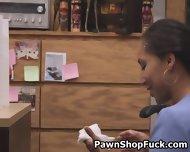 Dirty Brunette Nurse Taking Facial In Pawn Shop Office - scene 11