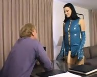 Belladonna Fucks Guy In The Ass With A Strapon Femdom Pegging - scene 1