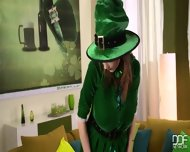 Lucie Wilde, St. Paddy S - scene 1