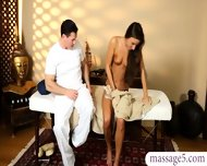 Beautiful Babe Sucked Off Her Masseur And Jizzed In The Spa - scene 7