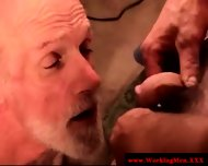 Straight Mature Redneck Giving Head - scene 9