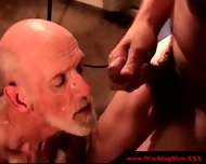 Straight Mature Redneck Giving Head - scene 10