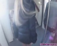 Kyra Got Fucked And Banged Hardcore In Public Train - scene 6