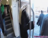 Kyra Got Fucked And Banged Hardcore In Public Train - scene 7