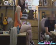 The Pawnman Was Horny As A Dog Seeing This Weird Couple In His Shop - scene 1