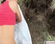 Petite Nataly Golds Perky Juicy Ass Gets Fuck In Public - scene 10