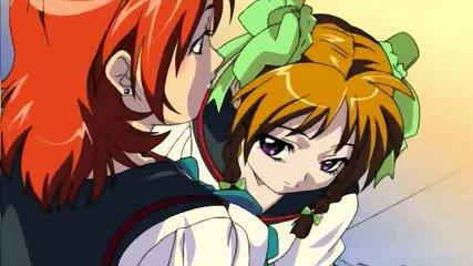 Horny Schoolgirls Hentai - scene 1