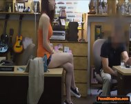 Busty Teen Jenny Gets A Taste Of The Pawnshop Owner Big Cock - scene 3