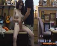 Busty Teen Jenny Gets A Taste Of The Pawnshop Owner Big Cock - scene 6