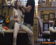Busty Teen Jenny Gets A Taste Of The Pawnshop Owner Big Cock - scene 7