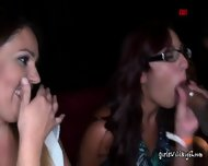 Sinful Ladies Have Blowjob Marathon At A Strip Club - scene 8