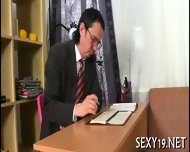 Salacious Drillings From Teacher - scene 1