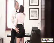 Secretary Valentina Nappi Arrives At The Office Wet All Over - scene 4
