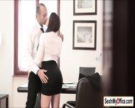 Secretary Valentina Nappi Arrives At The Office Wet All Over - scene 4