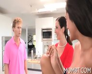 Randy Threesome Fornication - scene 2