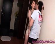Japanese Mom Hina Akiyoshi Tastes Cum