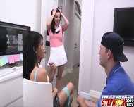 Stepmom Teaches Veronica About Sex Education With Her Boyfriend - scene 4