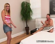 Jock Fingers And Eats Pussy Of Bestfriends Mom - scene 1
