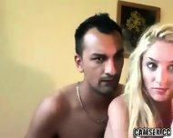 Amateur Deutsch Couple Fuck On Webcam 2 - scene 7