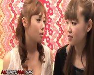 Asian Lesbo Pussy Toyed - scene 1