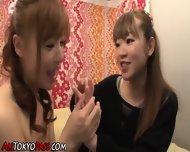 Asian Lesbo Pussy Toyed - scene 8