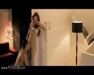 Hot Coed Seducing Her Teacher In The Bed - scene 4