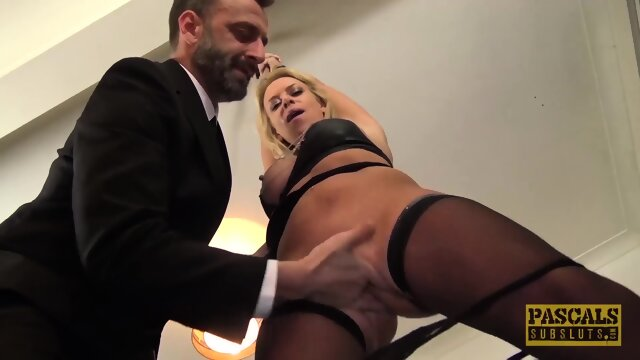 PASCALSSUBSLUTS – MILF Sasha Steele Submits To BDSM and Anal