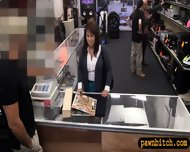 Busty Milf Pawns Her Pussy To Earn Money For The Bail - scene 3