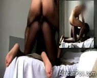 Petite African Hottie Enjoys To Be Smashed With No Mercy At All - scene 11