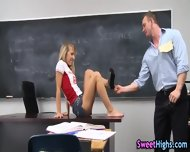High School Teen Railed - scene 3