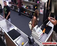 Big Boobs Amateur Pawns Her Tight Pussy At The Pawnshop - scene 2