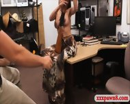 Big Boobs Amateur Pawns Her Tight Pussy At The Pawnshop - scene 3