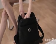 Elegant Babes With Strapon In Luxury - scene 2