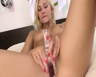 Blond Doing The Laundry And The Pussy - scene 1